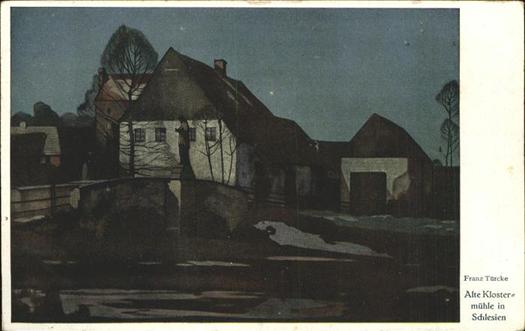 Wandteller, Franz Türcke, KPM Berlin 1909