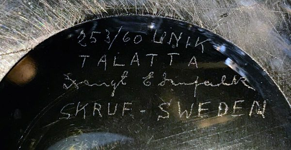 Thalatta-Vase, Bengt Edenfalk 1960