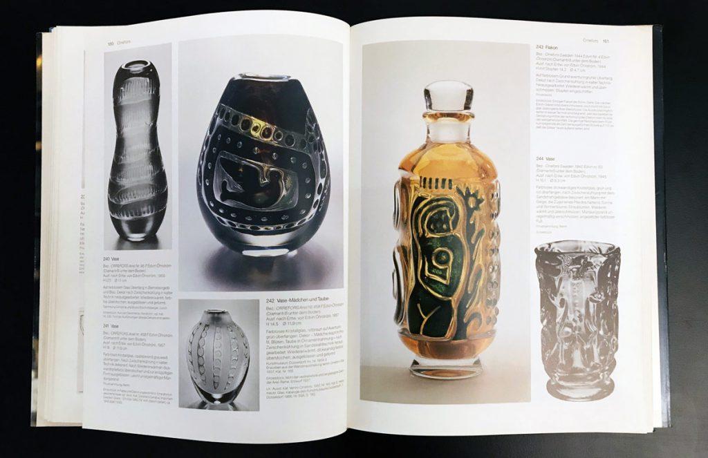 Ulrich Gronert, Glas in Schweden 1915-1960