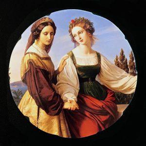 Carl Ferdinand Sohn, Die beiden Leonoren, 1834