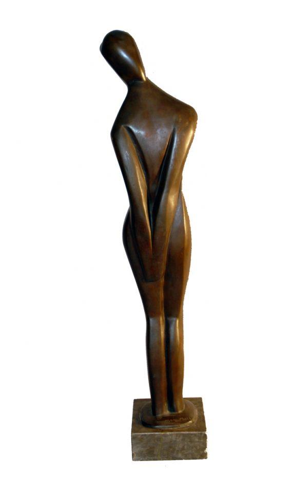Marg Moll, Stehende, 1929, Bronze