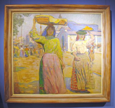 Paul Schad-Rossa, Marktfrauen in Lissabon, 1910/11