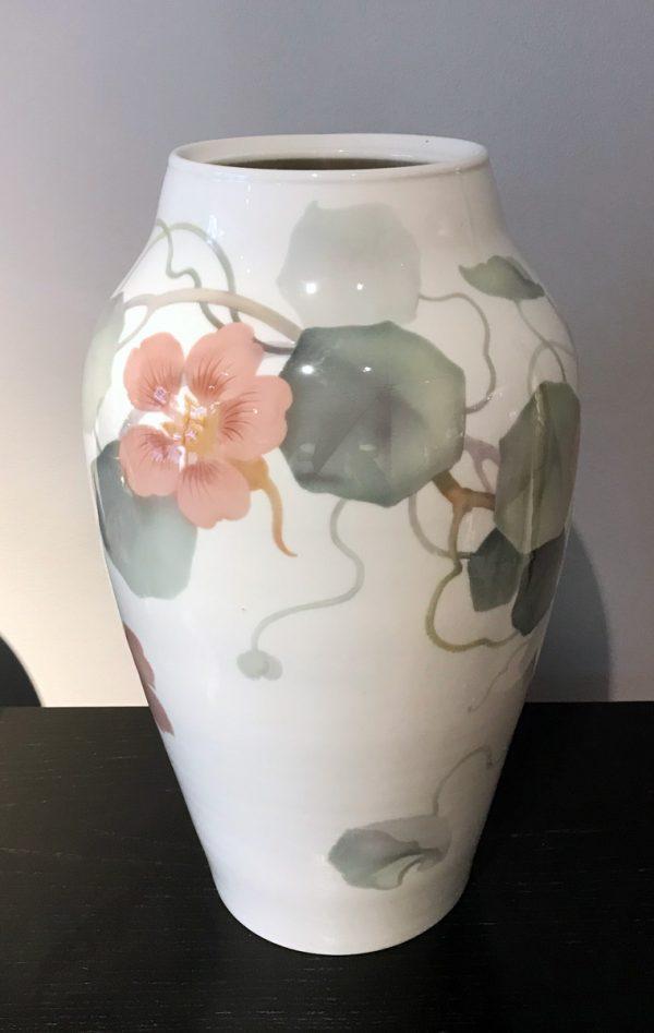 KPM-Vase mit Kressedekor, KPM Berlin, 1901