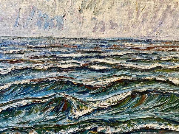 Theo von Brockhusen, Wellen, 1918