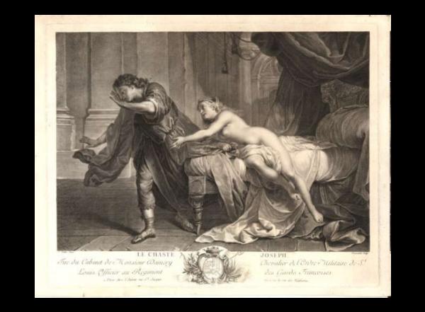 """Prunkteller KPM Berlin """"Joseph"""", um 1805"""
