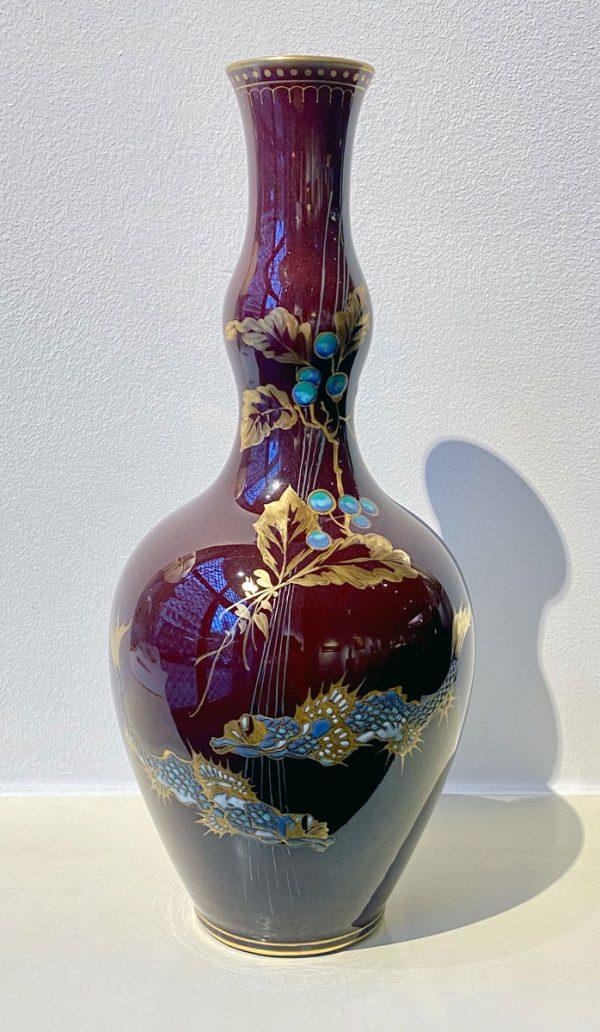 Segerporzellan-Vase, Hermann Seger, KPM Berlin um 1885