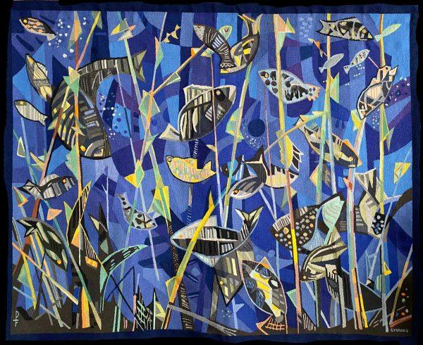 Blaues Aquarium, Lars Gynning für Pinton 1964