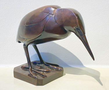 Wilhelm Krieger (1877–1945) Zwergrohrdommel Entwurf 1920